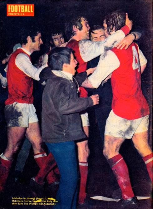 Fairs Cup success, Arsenal 1970