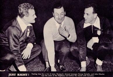 George Swindin, Arsenal v Juventus, 1959