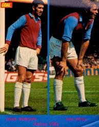 Robson and Ross, Aston Villa 1973