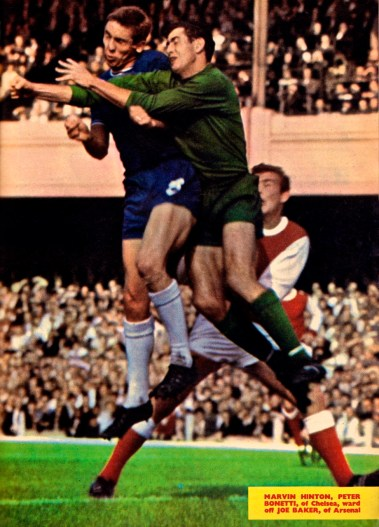 Hinton and Bonetti, Chelsea 1964