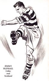 Jimmy McPhail, Celtic 1951