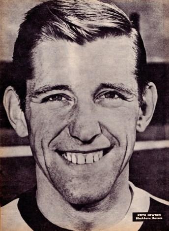 Keith Newton, Blackburn Rovers 1964