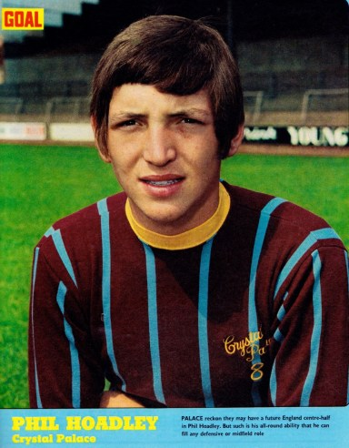 Phil Hoadley, Crystal Palace 1971