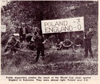 Poland v England, 1973
