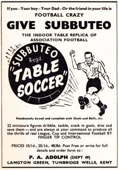 Subbuteo 1958
