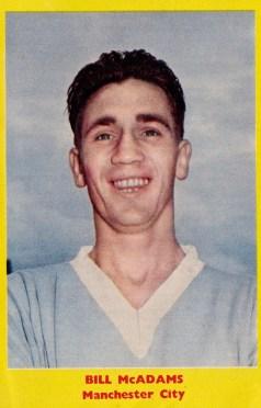 Bill McAdams, Man City 1959