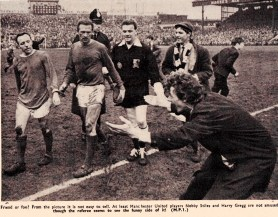 Odd spectator, Man United 1966