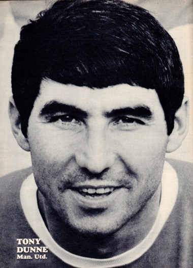 Tony Dunne, Man United 1967