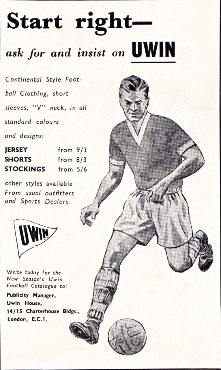 Uwin Sportswear 1961-69