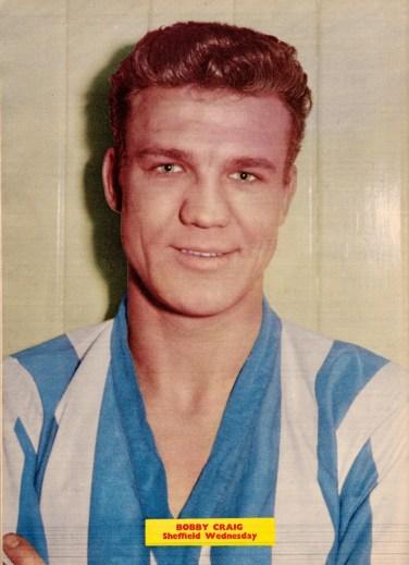 Bobby Craig, Sheffield Wednesday 1960