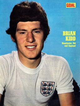 Brian Kidd, England 1970