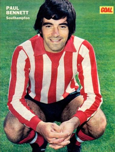 Paul Bennett, Southampton 1973