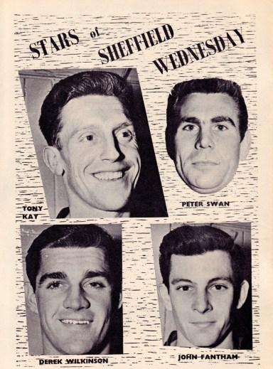 Stars Of Sheffield Wednesday 1960