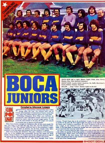 Boca Juniors, 1976