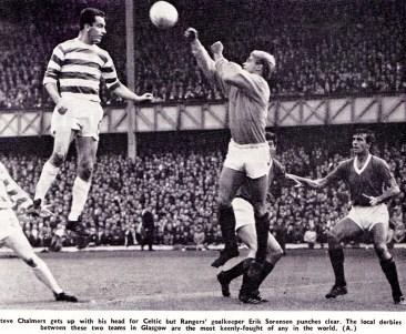 Eric Sorenson, Rangers 1967