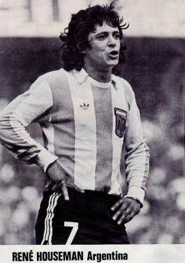 Rene Houseman, Argentina 1977