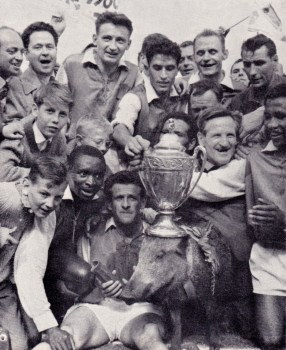 Sedan beat Nimes 3-1 in the 1961 French Cup Final