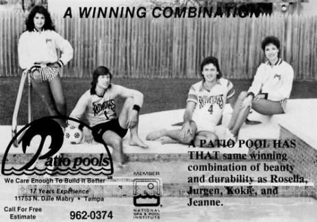 Tampa Bay Rowdies ads