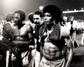 Jairzinho & Paulo Cesar, Brazil v East Germany, World Cup 1974