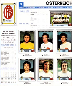 World Cup 1978 Austria 1