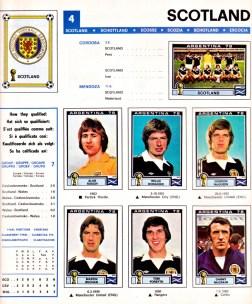 World Cup 1978 Scotland 1