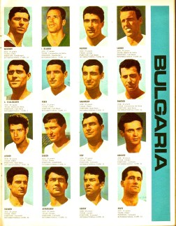World Cup 1966 FKS Album: Bulgaria