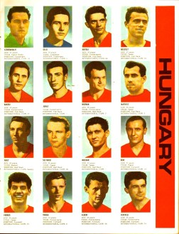 World Cup 1966 FKS Album: Hungary