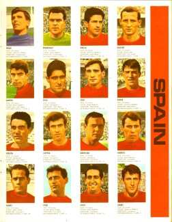World Cup 1966 FKS Album: Spain