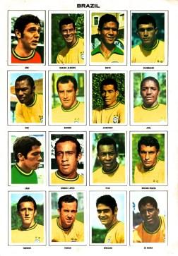 World Cup 1970 FKS Album: Brazil