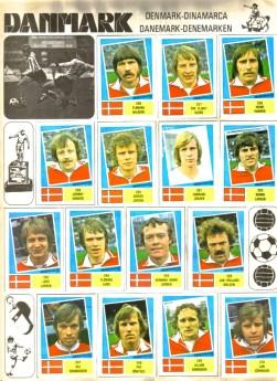 World Cup 1978 FKS Album: Denmark