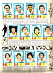 World Cup 1978 FKS Album: Peru