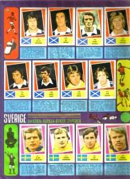 World Cup 1978 FKS Album: Scotland & Sweden
