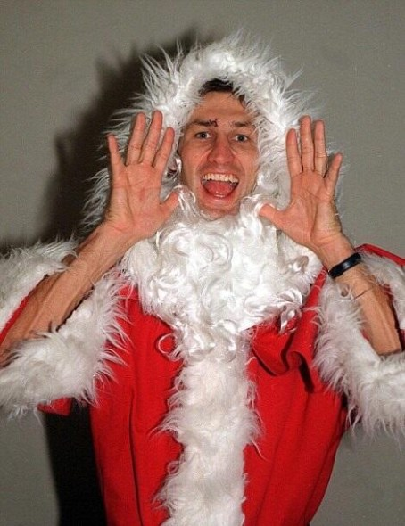 Tony Adams Santa 1996