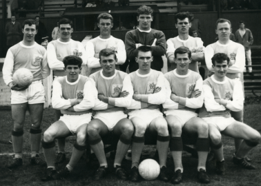 Albion Rovers Team photograph. Season 1964:5