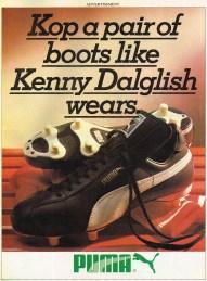 Kenny Dalglish Boots