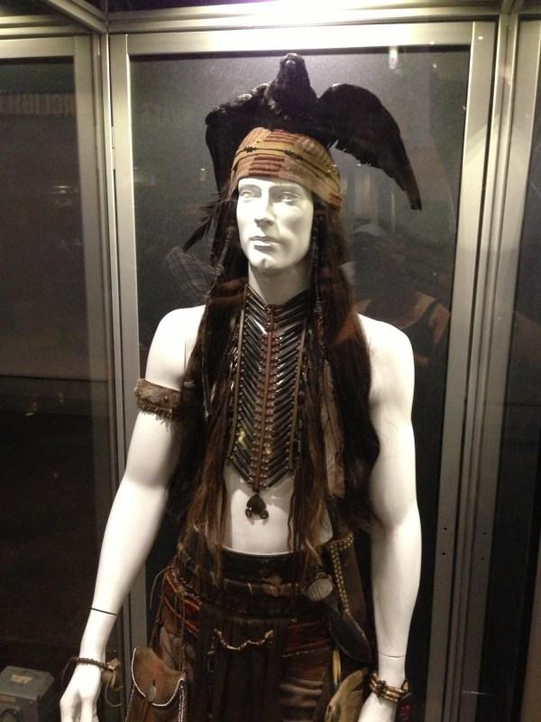 Johnny Depp Lone Ranger Costume