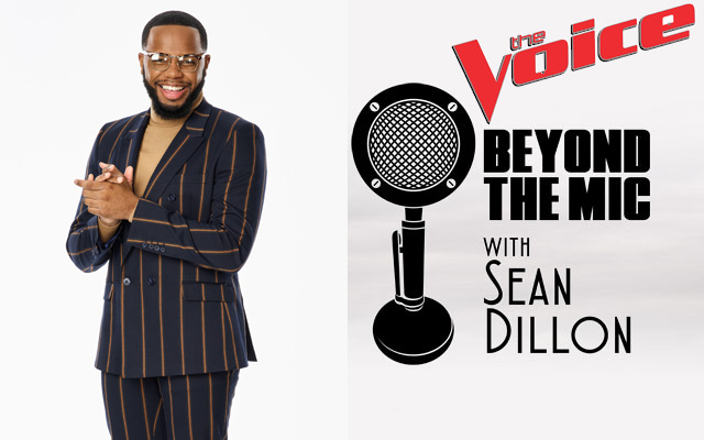 Victor Solomon and the Beyond the Mic with Sean Dillon logo