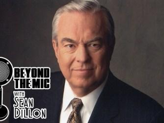 Bill Kurtis photo with Beyond the Mic logo