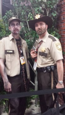 Rick and zombie