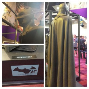 PhotoGrid of Batman's Cape and Cowl