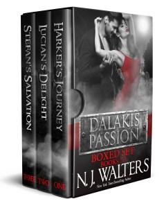 """""""Dalakis Passion Boxed Set"""" N. J. Walters"""