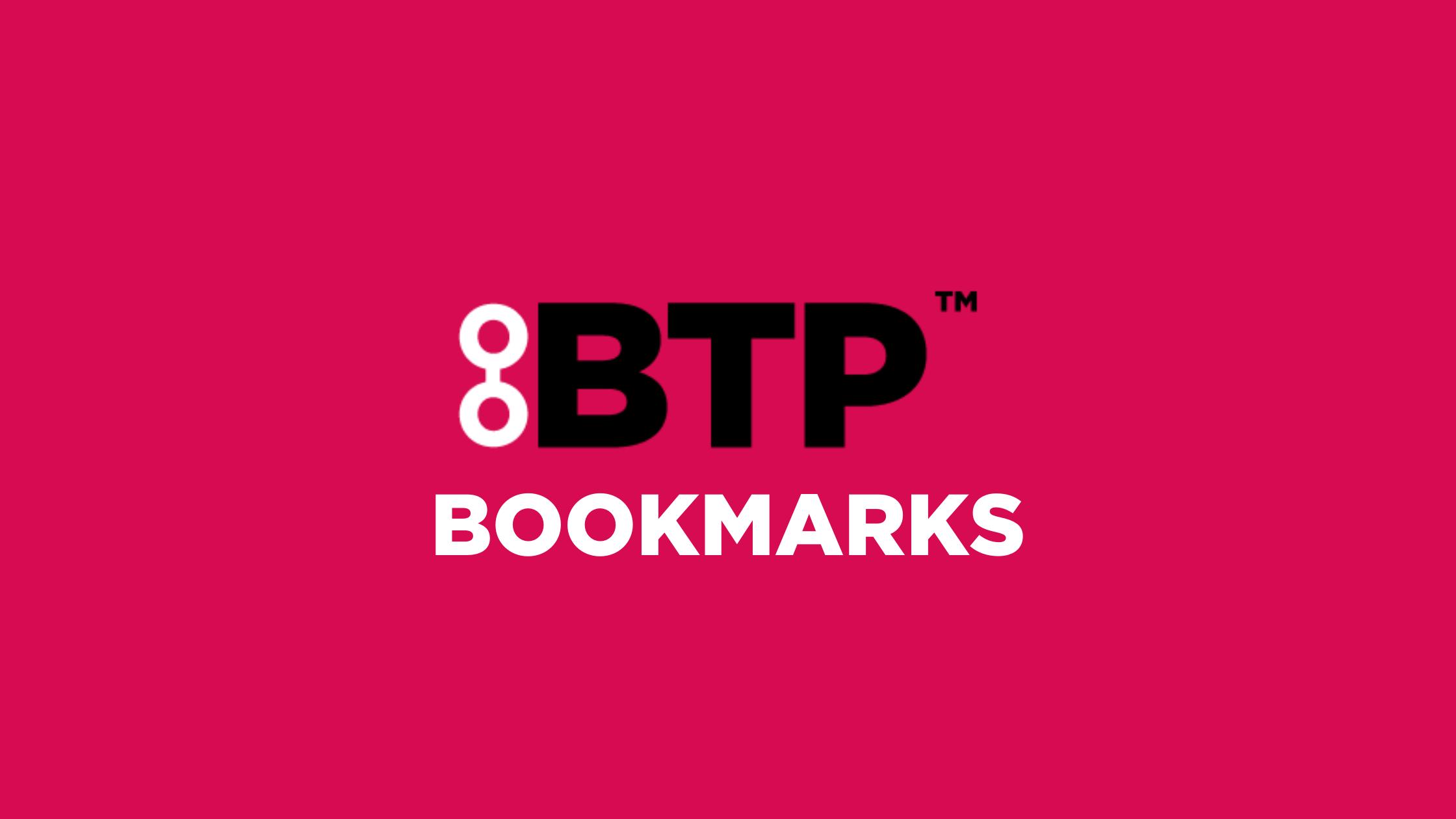 Shop the BTP Bookmarks