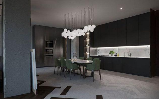 Dark Dinning Room Color Ideas
