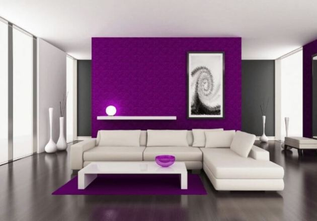 Purple Living Room Color Ideas