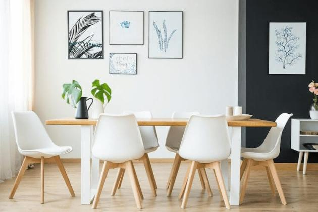 White Dinning Room Paint Color