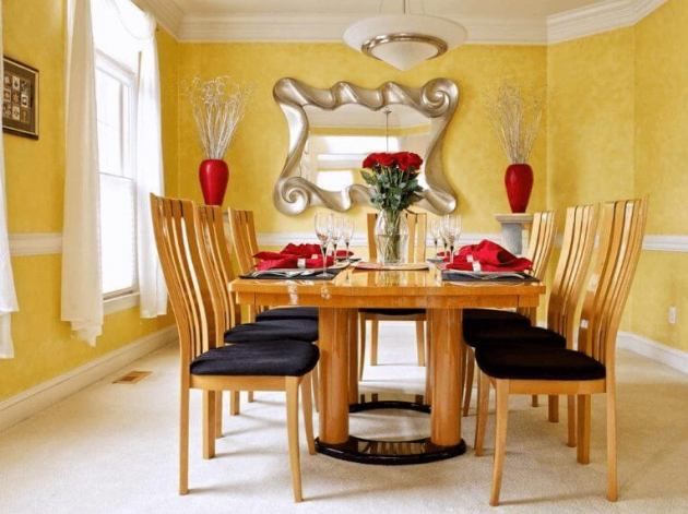 Yelow Dinning Room Paint Color