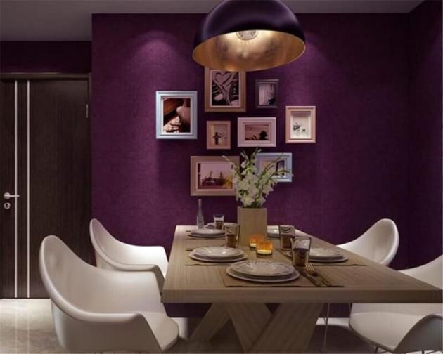 Purple Dinning Room Color Ideas