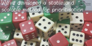 The importance of having a priority system