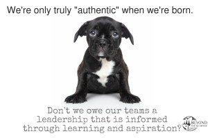 Authenticity is transient