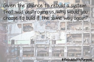 What do you want to rebuild?